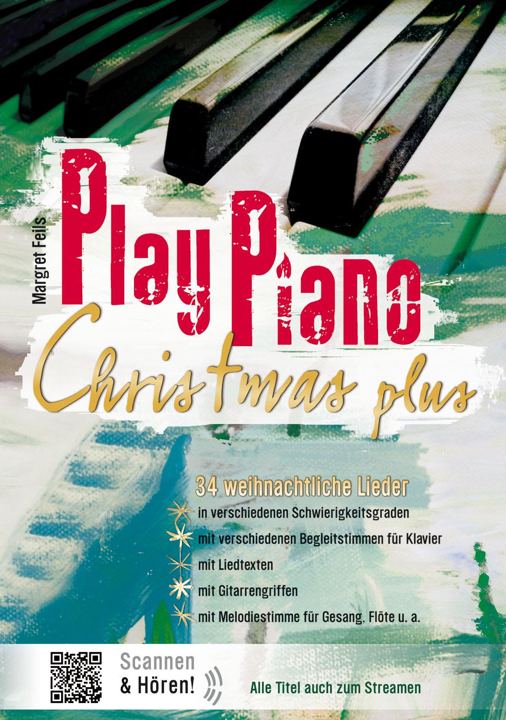 play piano christmas plus von margret feils. Black Bedroom Furniture Sets. Home Design Ideas